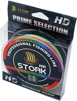 Stork HD, 4-Hilo Trenzado Pesca 300m: Amazon.es: Deportes y aire libre