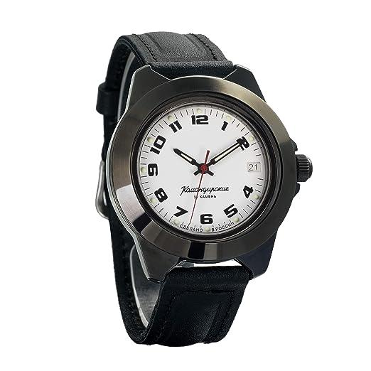 Vostok Ruso KOMANDIRSKIE Hombre Auto Viento Reloj Pulsera # 646578: Amazon.es: Relojes