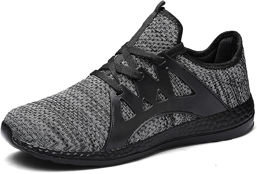 GNEDIAE Zapatos para Correr en Montaña y Asfalto Aire Libre y Deportes Zapatillas de Running Padel