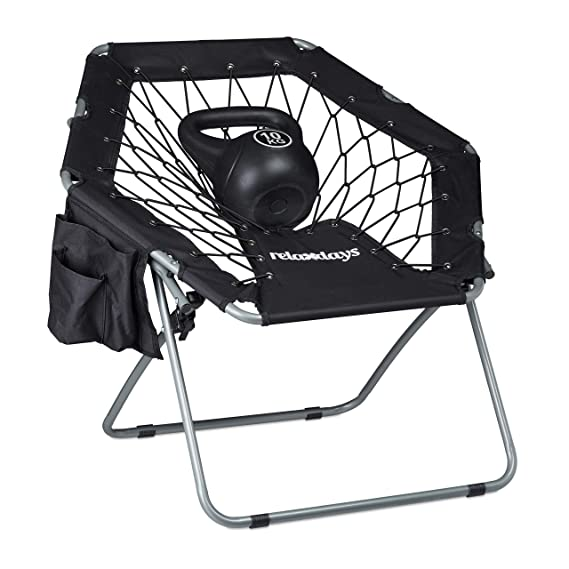 Amazon.com: Relaxdays Webster Bungee silla, elástico ...