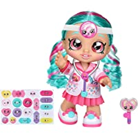 Kindi Kids Fun Time 10 Inch Doll, Dr Cindy Pops with Stethoscope and Shopkins inspired Lollipop| Changeable Clothes and…