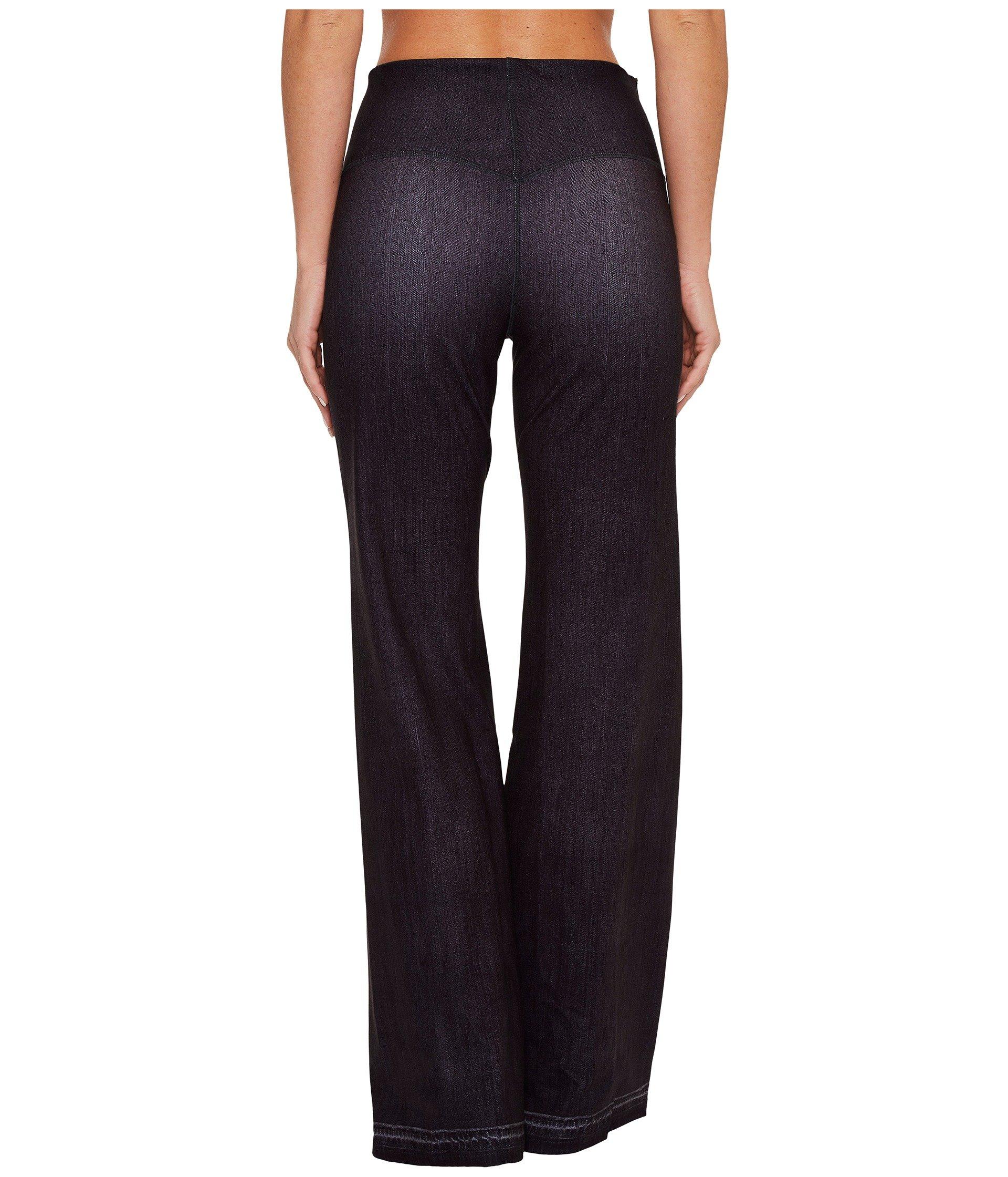 Lucy Women's Indigo Flare Pants Black Indigo Pants by Lucy (Image #4)