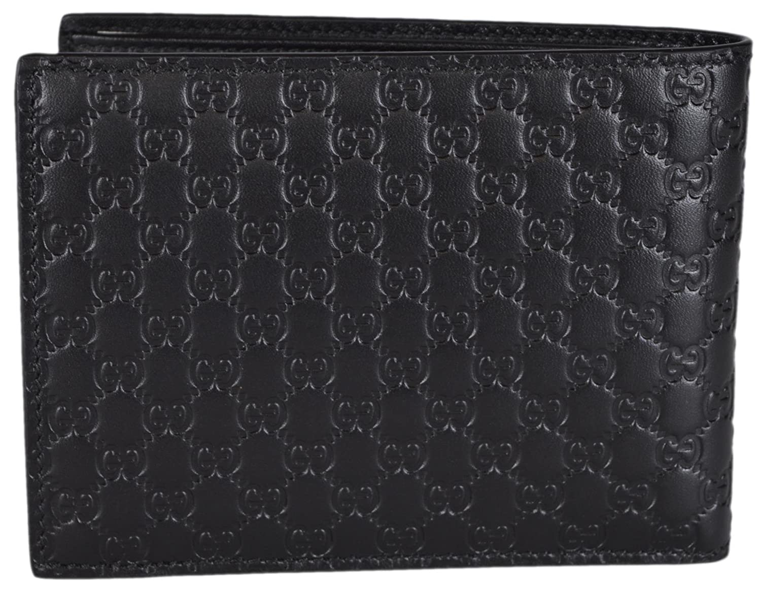cdf01881f6b8f1 Gucci Men's Leather Micro GG Guccissima Trifold Wallet 217044 (Black):  Amazon.ca: Clothing & Accessories