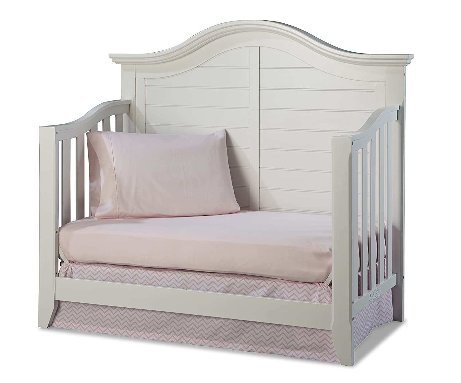 Amazon.com : Thomasville Kids Southern Dunes Lifestyle 4 In 1 Convertible  Crib, White : Baby