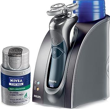 Philips Nivea Hs8460 Coolskin - Afeitadora recargable con soporte de recarga y carga: Amazon.es: Salud y cuidado personal