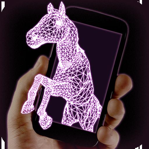 Hologram Horse Sim - Horse Games Free