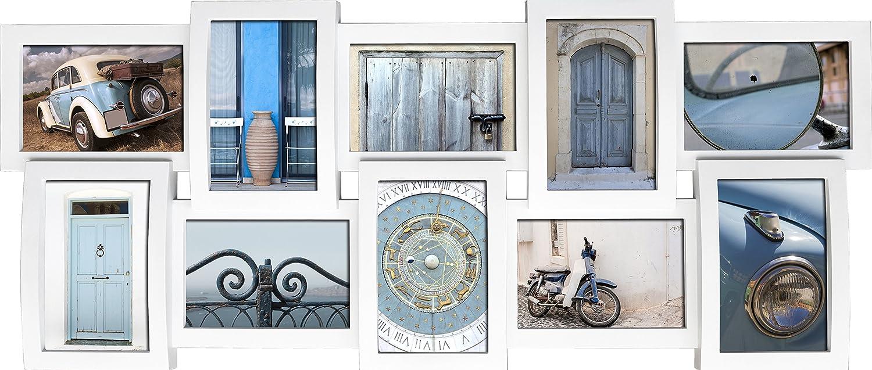 Amazon.de: empireposter - Collage Bilderrahmen - Sofia weiß ...