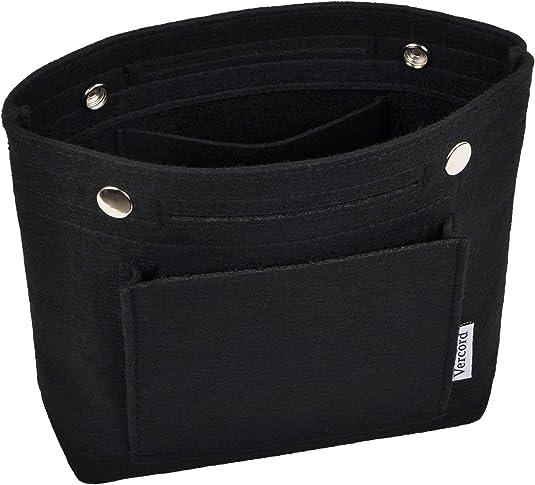 Details about  /Vercord Felt Tote Handbag Purse Pocketbook Organizer Insert Divider Shaper Bag i