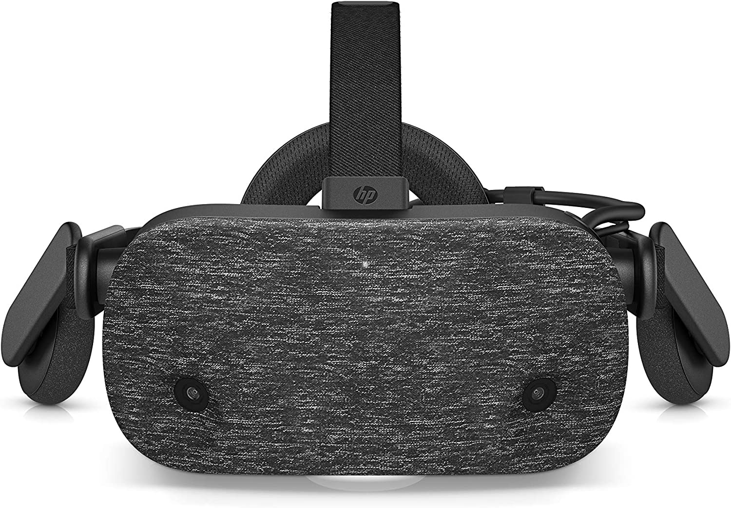 "HP Reverb VR Headset w 2.89"" Display, 2160 x 2160 LCD Panels, 114-Degree Field of View, Dual Forward Cameras, 90Hz Paired to DisplayPort 1.3, Bluetooth, Built-in Audio, 3.5mm Audio Jack (VR1000-200)"
