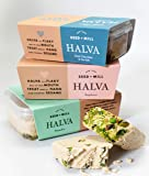 Seed and Mill, Halva Trio - Pistachio, Sea Salt Dark Chocolate, Raspberry, 24oz | Vegan, Gluten Free, Kosher Certified