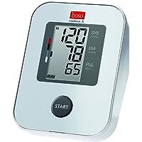 boso medicus X – Oberarm-Blutdruckmessgerät mit Einknopfbedienung, großem Display und Arrhythmie-Erkennung – Inkl. Standard-Manschette (22-32cm)