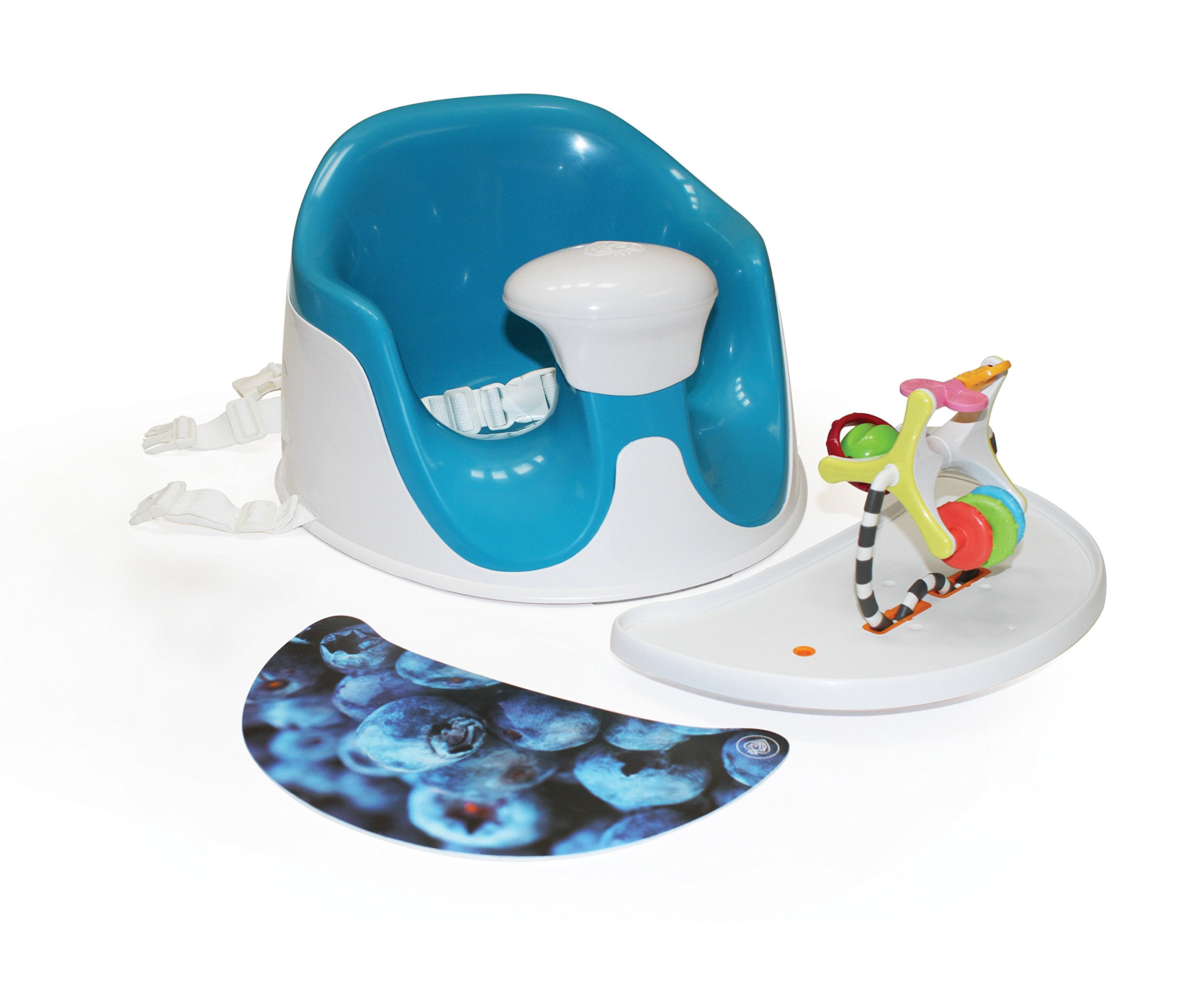 Prince Lion Heart BebePOD Chubs Plus Baby Sitter and Booster Seat, Berry Blue by Prince Lionheart