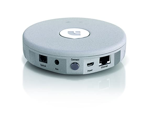 Audio Pro Link 1 Adaptador Multiroom (AirPlay, Spotify Connect, 3.5mm Stereo, TOSlink Optical) Color Gris: Amazon.es: Electrónica