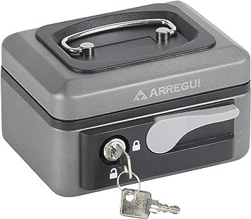 Arregui C9716 Caja de caudales de Acero Grafito con pulsador de ...