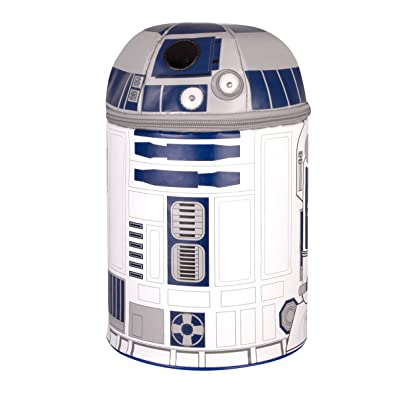 Thermos Novelty Lunch Kit, Star Wars R2D2 with Lights and Sound: Lunch Boxes: Kitchen & Dining
