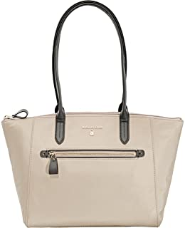 94b2fd6c2516 Amazon.com  Michael Kors Jet Set Nylon Pocket Tote - Dusk Saddle  Shoes