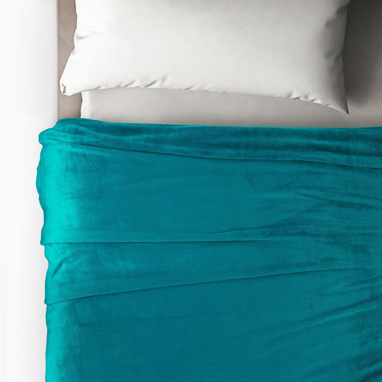 Bedsure More Than Comfort Flannel Fleece Throw Blanket Travelsingle Size