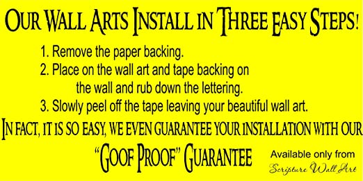 Amazon.com: You Got This! Motivational Wall Decals From Scipture ...