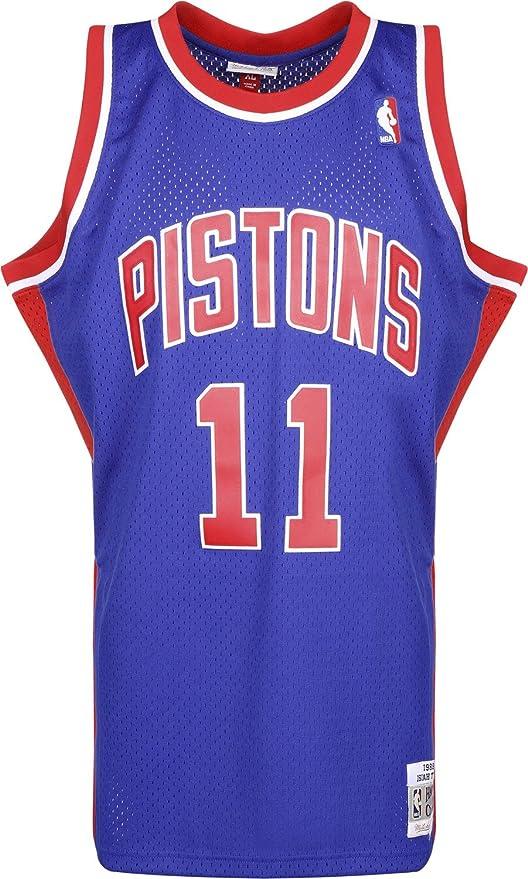 Mitchell & Ness – Detroit Pistons Isiah Thomas – Swingman Jersey ...