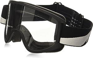 Biltwell (M2BLTBKWT) Script Bolts Moto 2.0 Goggles (Black, One Size Fits Most)
