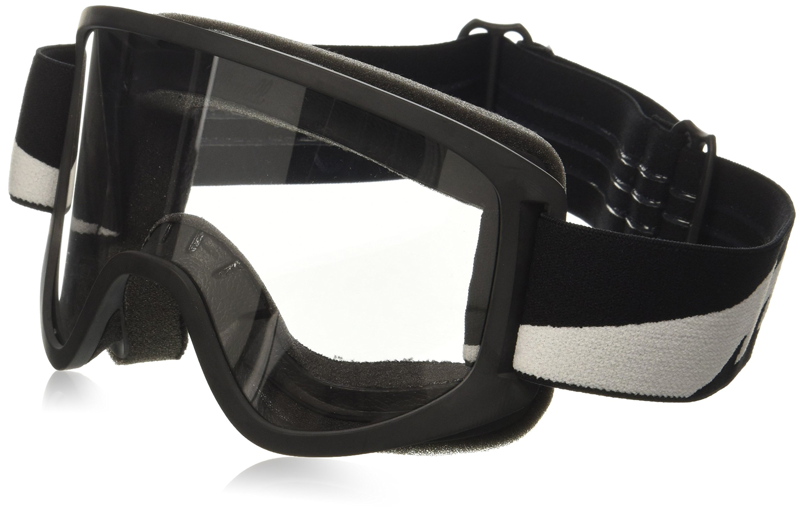 Biltwell (M2BLTBKWT) Script Bolts Moto 2.0 Goggles (Black, One Size Fits Most)