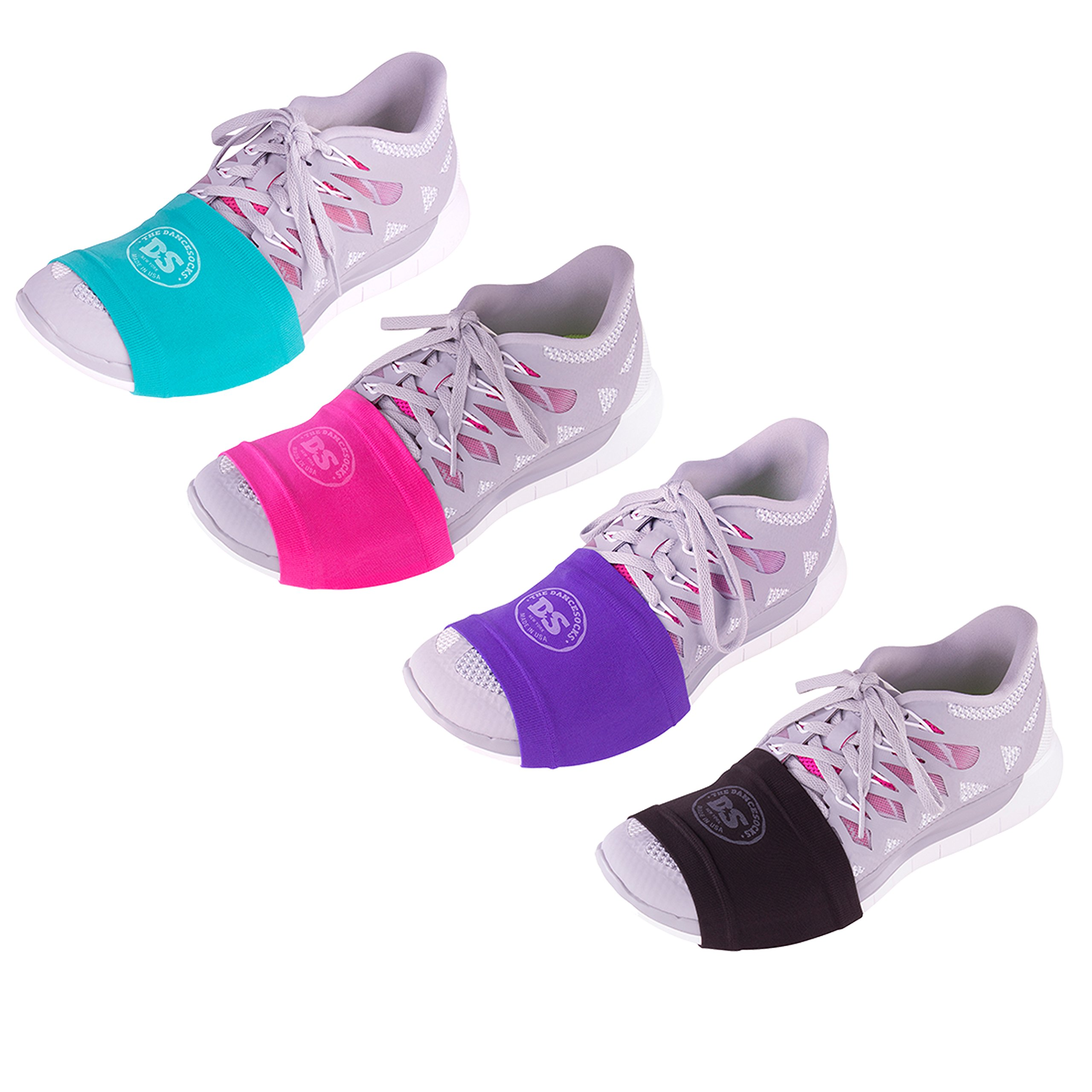 THE DANCESOCKS - Sneaker Socks for Dancing on Smooth Floors