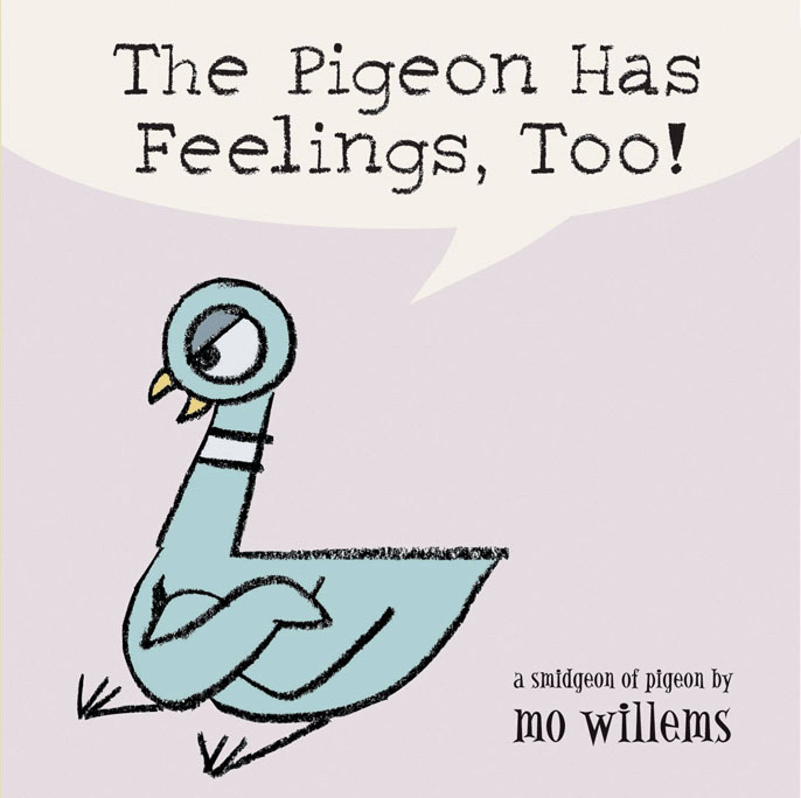 The pigeon has feelings too mo willems 9780786836505 amazon the pigeon has feelings too mo willems 9780786836505 amazon books fandeluxe Image collections