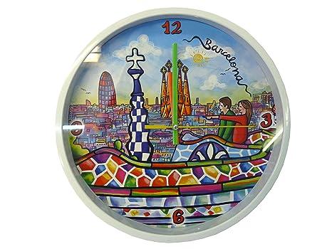 Nadal Reloj Grande Gaudi España, 24,9 x 24,9 x 3,