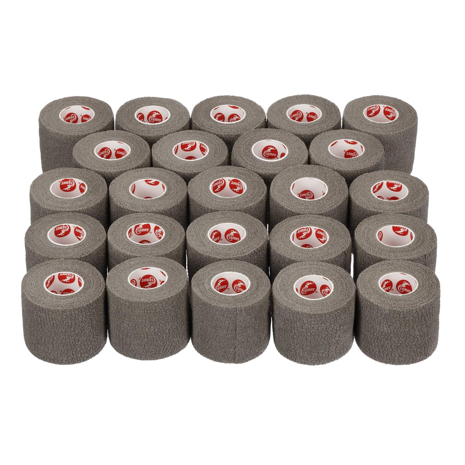 Cramer Eco-Flex Self-Stick Stretch Tape, Cohesive Tape, Flexible Elastic Sports Tape, Athletic Training Supplies, Easy Tear Self-Adherent Bandage Wrap, Bulk Cases, 2'' X 5'' Yard Rolls, Compression Tape