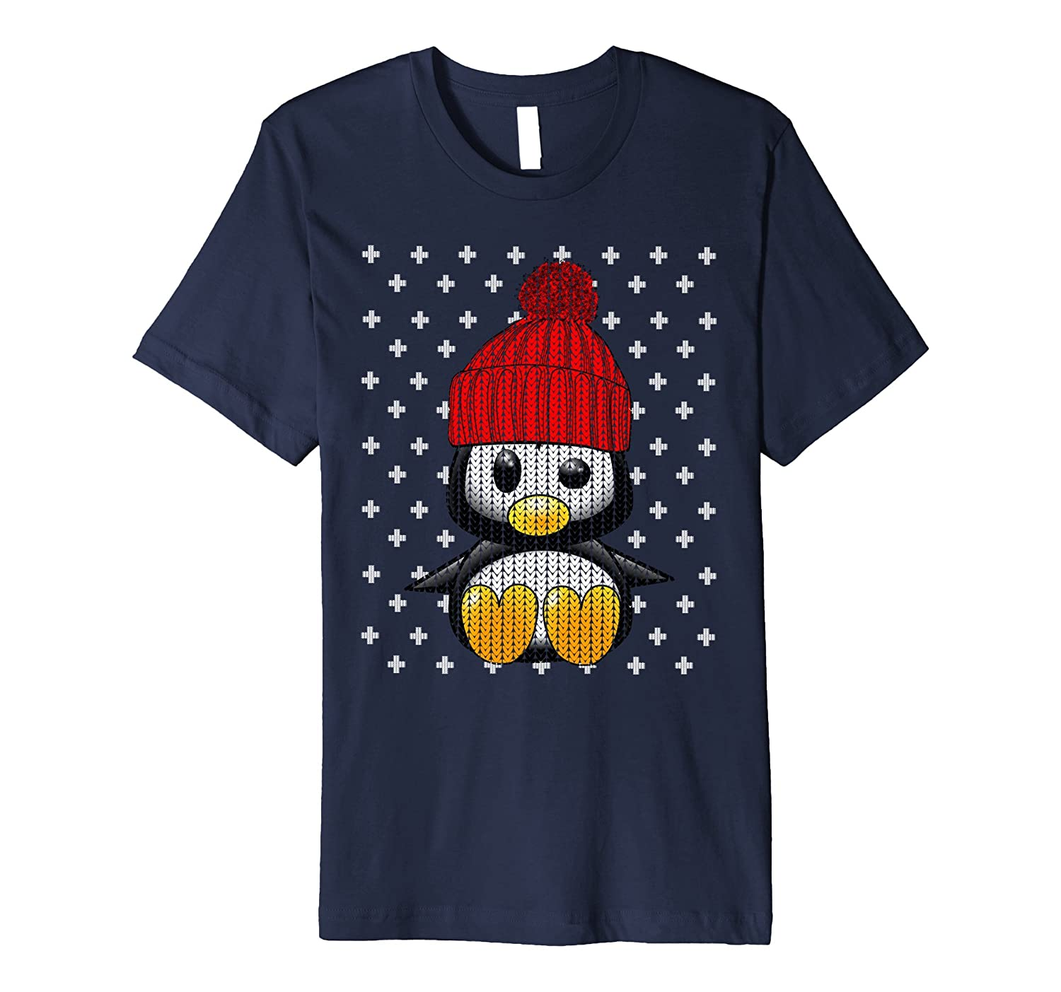 UGLY CHRISTMAS SWEATER SHIRT Toy Penguin Party Gift T-Shirt-ANZ