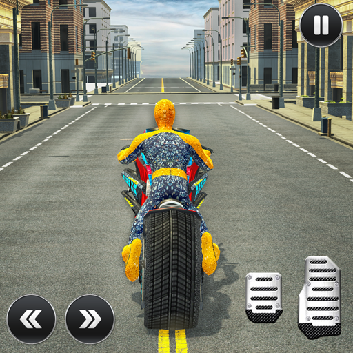 Moto Spider Traffic Hero: Motor Bike Racing (Motorbike Race)