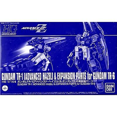 Bandai HGUC 1/144 Gundam TR-1 [Advanced Hazle] & Expansion Parts for Gundam TR-6: Toys & Games