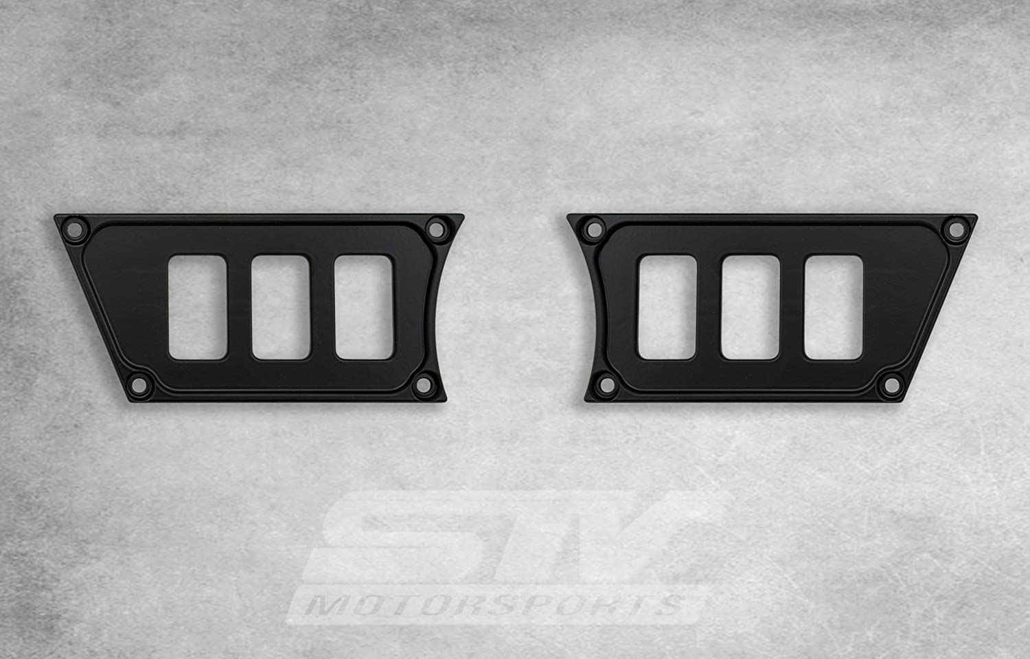 Aluminum Black Dash Panel Polaris w//6 Switches For 2015 Polaris RZR XP 900 no switches included STVMotorsports