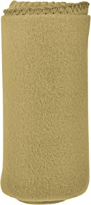 Imperial Home 50 X 60 Cozy Fleece Blanket – Fleece Throw Blanket for Travel, Pets, and More – Lightweight Throw Blankets (Tan)