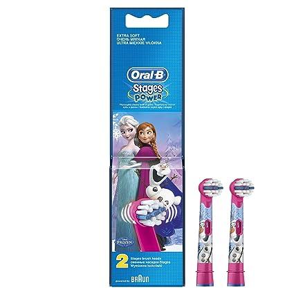 Oral-B EB 10 2 Frozen 2pieza(s) Azul, Rosa cepillo de