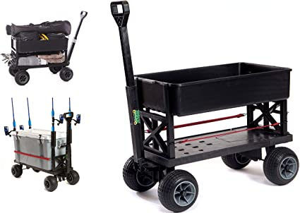Amazon.com: Mighty Max Cart AP600C carro de jardín ...