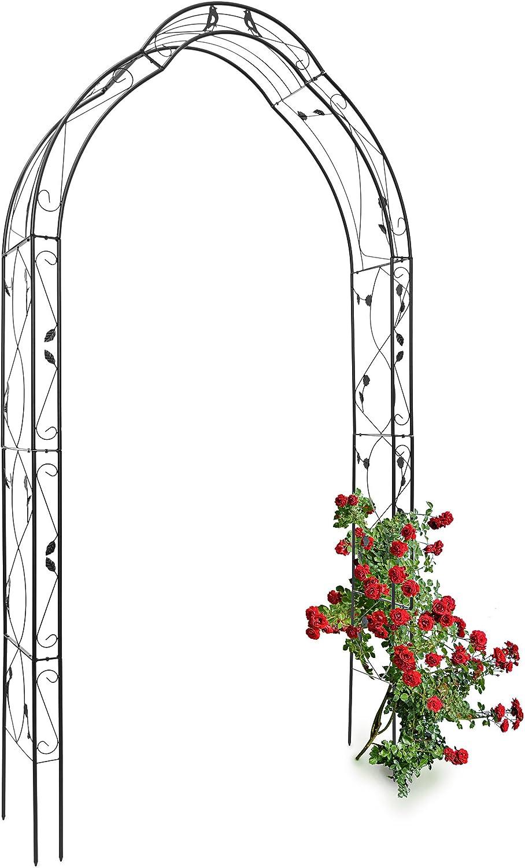 filigranes Rankgitter Spalier in 2 Größen Für Rosen Rankpflanzen Clematis