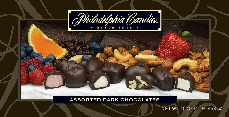 Amazon.com : Philadelphia Candies Assorted Dark Boxed Chocolates ...