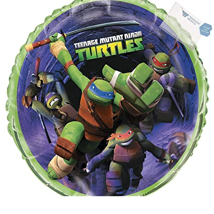 Amazon.com: Teenage Mutant Ninja Turtles Mylar Balloon (With ...