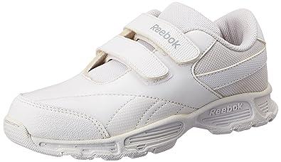 84e793f08ba8 Reebok Men s Racer II LP School White Formal Shoes - 10.5 UK India ...