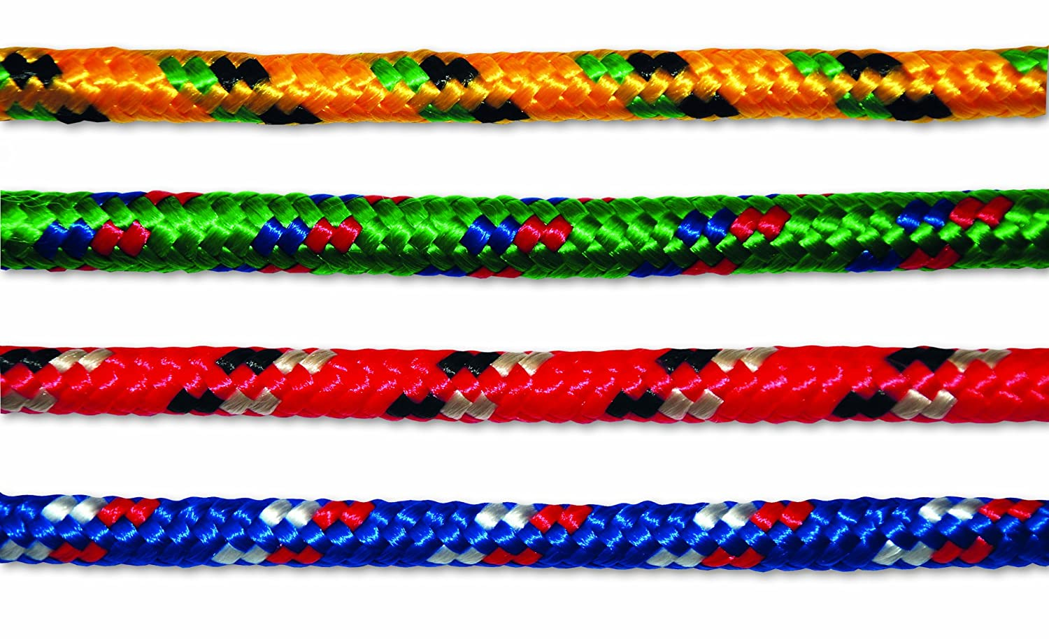 Multicord P/DPCA10 Braided rope - polypropylene/polyester - Diameter 9 mm - Length 7, 5 m - Assortment of colors