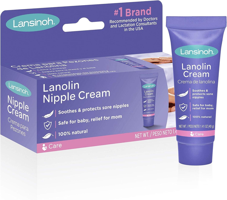 Lansinoh Nursing Pads breastmilk bags nipple cream 3 pack protectores de pezones