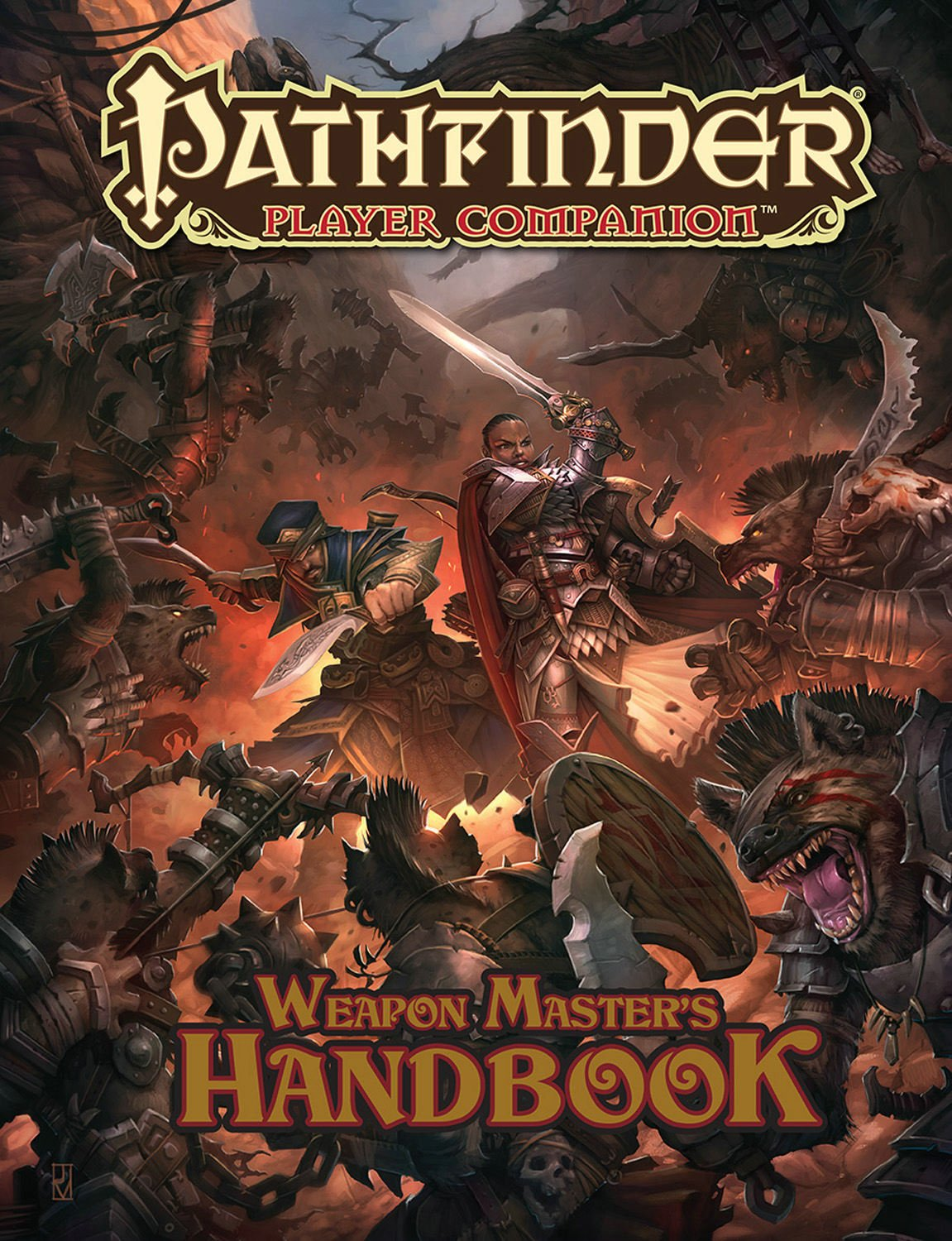 Pathfinder Player Companion: Weapon Master's Handbook