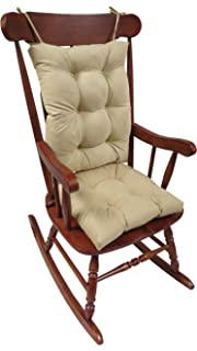 the gripper nonslip rocking chair cushion set honeycomb xlarge natural - Wooden Rocking Chair Cushions