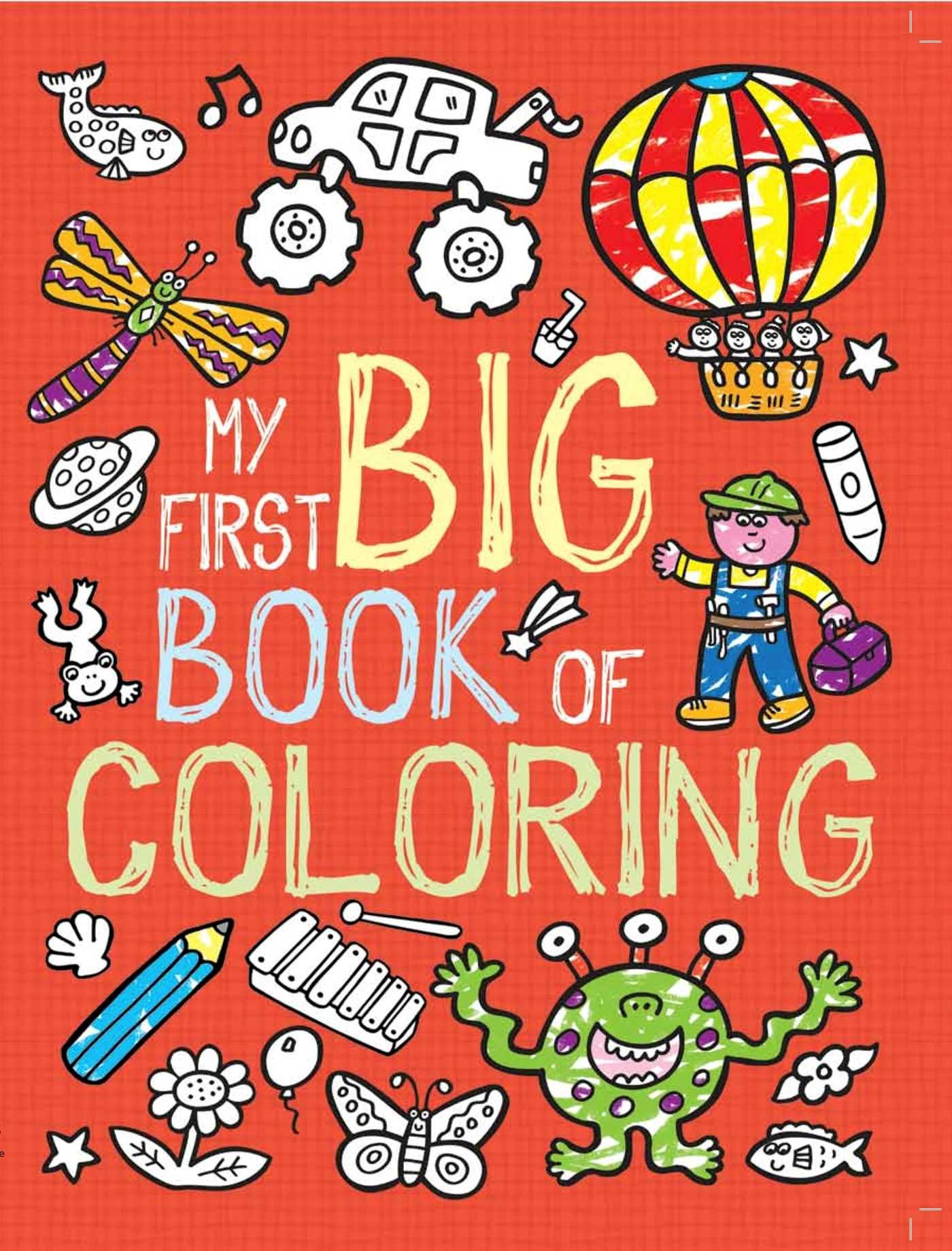 My First Big Book Coloring product image