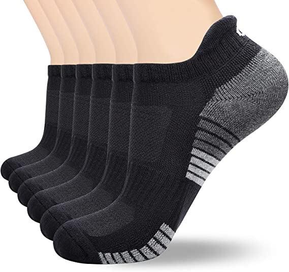 12 Pairs Ladies Trainer Liner Ankle Cushioned Sole  Women/'s Socks lot Sizes 4-7