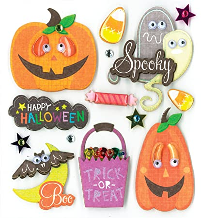 K&Company Spooky Halloween Grand Adhesions Stickers