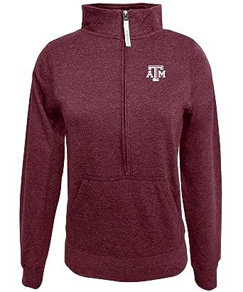 Alta Gracia Adult Women /½ Zip Fleece Sweatshirt Maroon Large