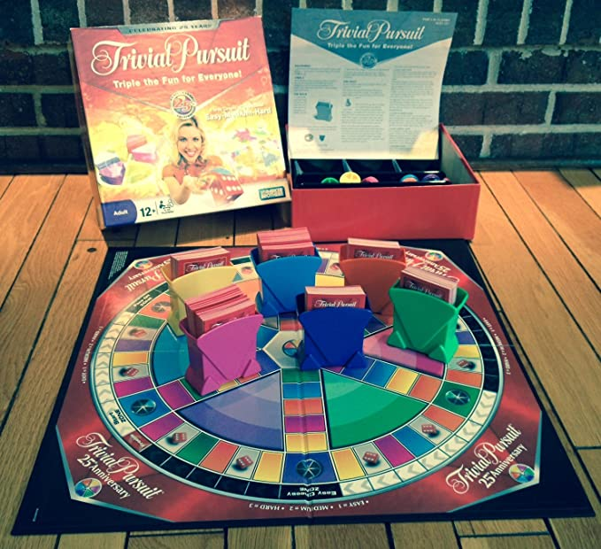 Trivial Pursuit 25th Anniversary Edition by Hasbro: Amazon.es ...
