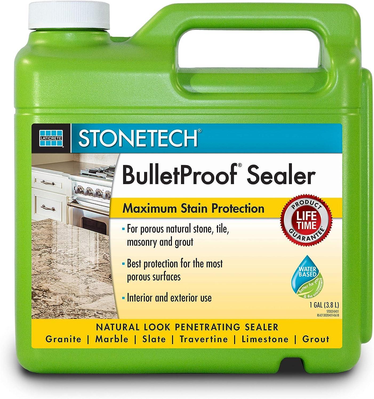 Stonetech Bpss4 1g Bulletproof Stone Sealer 1 Gallon Container
